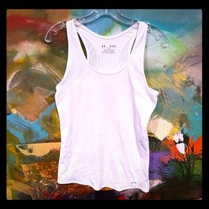 Under Armour White Tank - Size XL